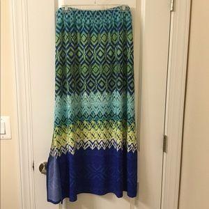 Chico's long skirt